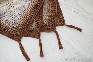 005de3aec0 Ravelry  Caramel Whirl Blanket pattern by Susan Carlson