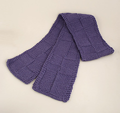 Big Block Scarf PDF