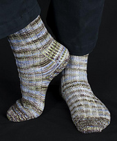 Upside-Down Heel Sock Pattern PDF