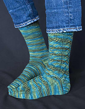 Fishtail Hollow Socks PDF
