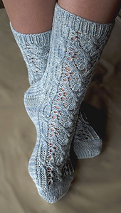 Wishbone Lace Sock PDF