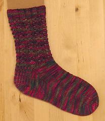 Lacy Rib Socks PDF