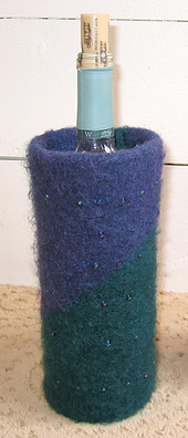 Felted Wine Bottle Cozy PDF