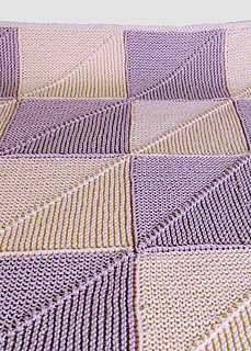 Ravelry Mitered Square Baby Blanket Pattern By Amy Loberg