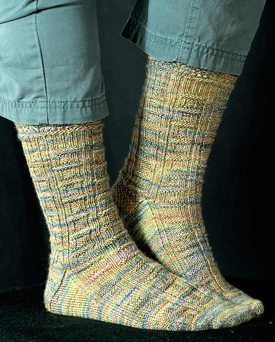 Mammoth Springs Sock PDF