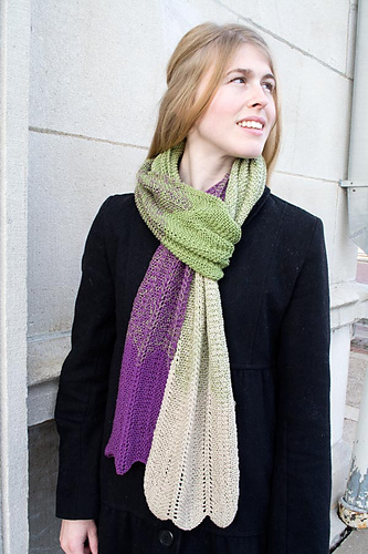 Rippled Evolution Scarf PDF