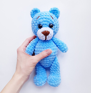 Ravelry: Bunny and Teddy bear pattern by Fionadolls - patterns