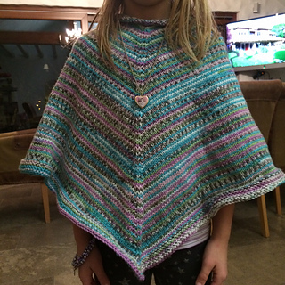 Ravelry Basic Childrens Poncho Pattern By Shaina Bilow