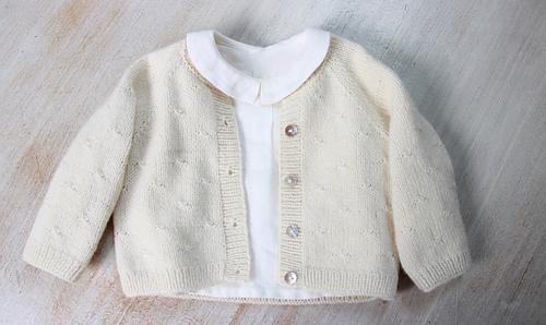 Ravelry: 38 / Princess Charlotte Cardigan pattern by Florence Merlin