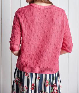 ffe5ade2f9e2 Ravelry  Mock Weave Jumper pattern by Cleckheaton
