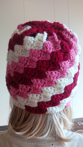 Ravelry Corner To Corner C2c Hat Pattern By Forever After Crochet