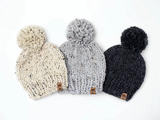 7c8ac5c79 Basic Winter Hat pattern by Tara Marie