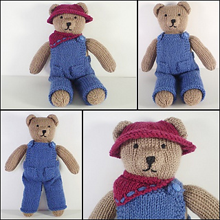 Ravelry: Teddy Bear Clothes pattern by Frankie Brown