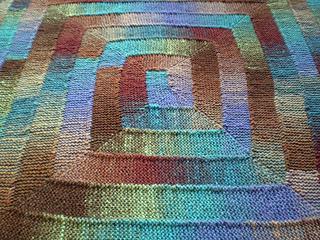 Ten Stitch Blanket pattern by Frankie Brown