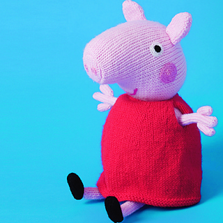 Peppa Pig Knitting Patterns : Ravelry: Peppa Pig pattern by Debi Birkin