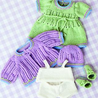 33c44b82c220 Ravelry  Vintage Baby Doll Clothes pattern by Tina Egleton