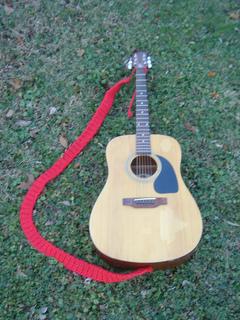 Ravelry Crocheted Guitar Strap Pattern By Knit 1 Magazine