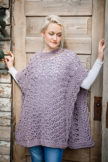 Blooming Petals Poncho Pattern By Lorene Haythorn Eppolite Ravelry