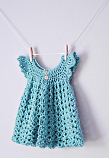 Angel Wings Pinafore pattern by Maxine Gonser