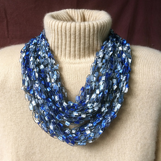 Ravelry French Knit Ladder Yarn Necklace Pattern By Gemma