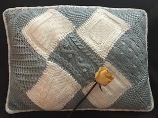 Love Letter Pillow pattern by Gemma Sogabe