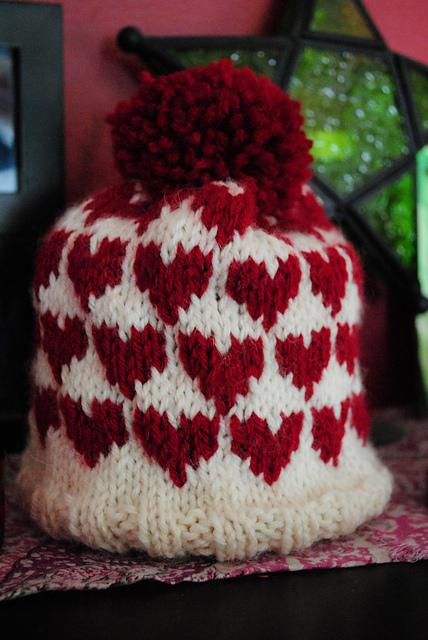 Ravelry Baby Heart Hat Pattern By Gilda Knits