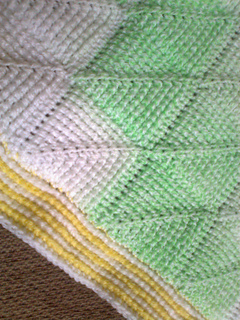 Ravelry Tunisian Diamond Crochet Entrelac Blanket Pattern