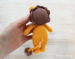 Little Amigurumi Lion : Ravelry cuddle me lion amigurumi pattern by amigurumi today