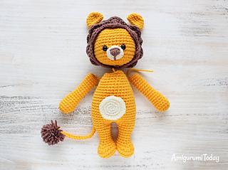 Crochet Amigurumi Lion Patterns : Ravelry: cuddle me lion amigurumi pattern by amigurumi today