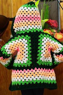 Ravelry: Hexagonal Hooded Cardigan pattern by Celeste Wood