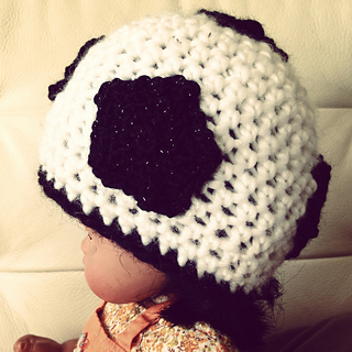 Ravelry baby soccer ball beanie pattern by janet carrillo dt1010fo