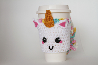 Ravelry Unicorn Coffee Sleeve Pattern By Gabrielle Bares