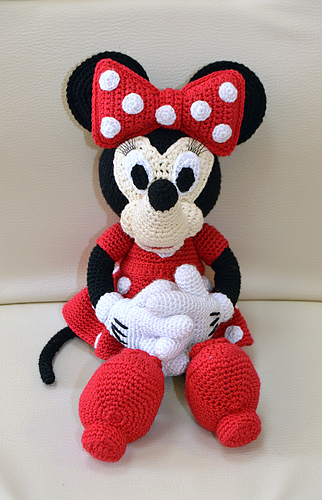 Ravelry Mini Minnie Mouse Amigurumi Pattern By Laila Saide