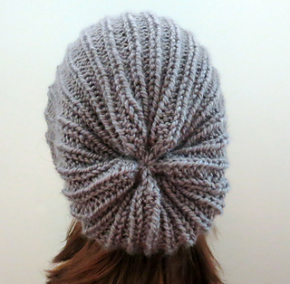 da123c5fbb1 Ravelry  The Yvette Slouch Hat with Perpendicular Lines pattern by Grace  Rose