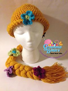 Ravelry: Rapunzel Crochet Hat Pattern pattern by Gramma Beans