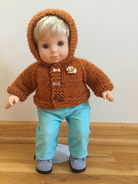 Ravelry 15 Baby Doll Hooded Sweater Pattern By Janice Helge