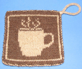 af03e762d53a Ravelry  Coffee and Tea DK pot holders pattern by Elizabeth Evans