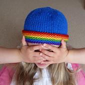 Blue_rainbow_brim_beanie_1_small_best_fit