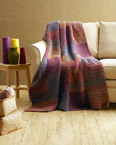 Ravelry Shaded Colors Afghan Late Summer Afghan Pattern By Lion