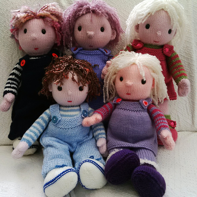 Ravelry The Poppet Dolls Pattern By Pat Alinejad