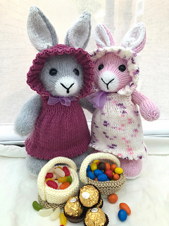 Ravelry: Elderberry Bunny pattern by Pat Alinejad