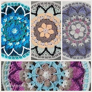 Ravelry Jacaranda Cal Pattern By Iman Van Der Kraan