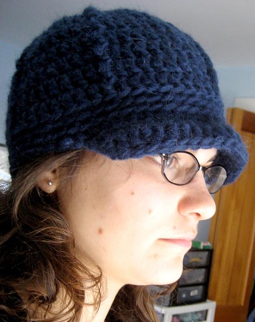 Ravelry Beanie Brim Cap Pattern By Hannah Levine
