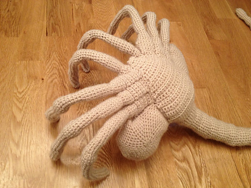 Ravelry Alien Facehugger Pattern By James Hemsley