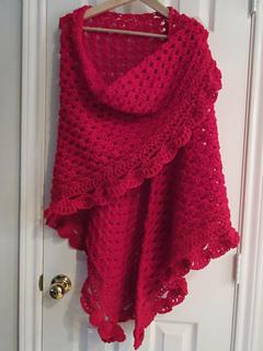 Ravelry blueprint half granny square shawl pattern by harrietta wright malvernweather Image collections