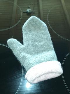Ravelry Fully Fashioned Machine Knit Mittens Pattern By