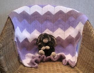 Ravelry Chevron Baby Blanket Pattern By Hayley Joanne