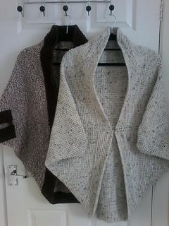 402889aba Ravelry  Tunisian Crochet Cocoon Shrug pattern by Hayley Joanne Robinson