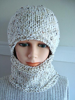Ravelry 597 Knitted Balaclava Baby To Adult Pattern By