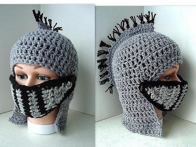 Ravelry Knights Helmet Medieval Roman Gladiator Pattern By Emi